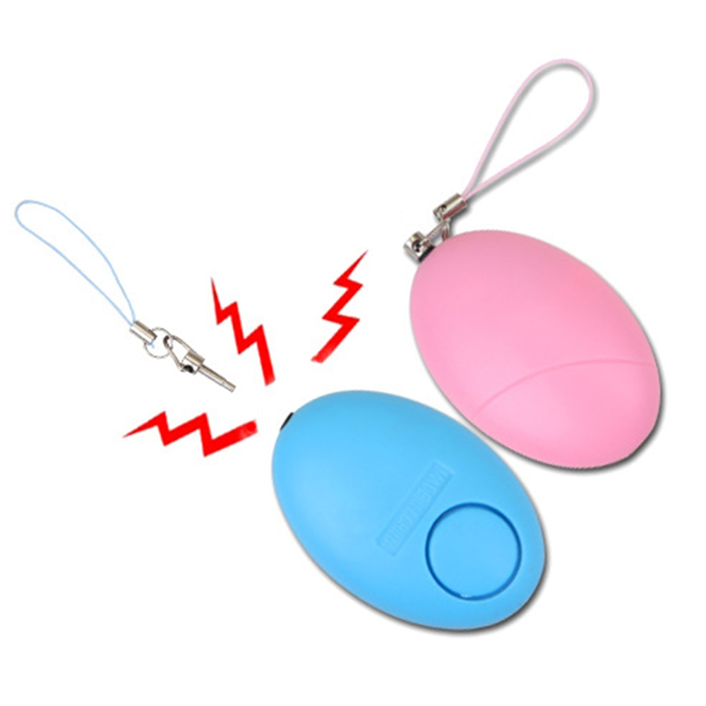 Брелок для самозащиты, персональная сигнализация, аварийная сирена, свисток для выживания, устройство для девушек и женщин, охранное оповещение