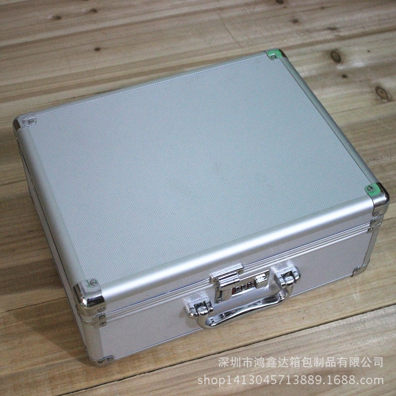 Aluminum Tool Box Tools Case Garage Storage Parts Organizer Professional No Tool Caixa De Ferramentas Tools Packaging BD50TB
