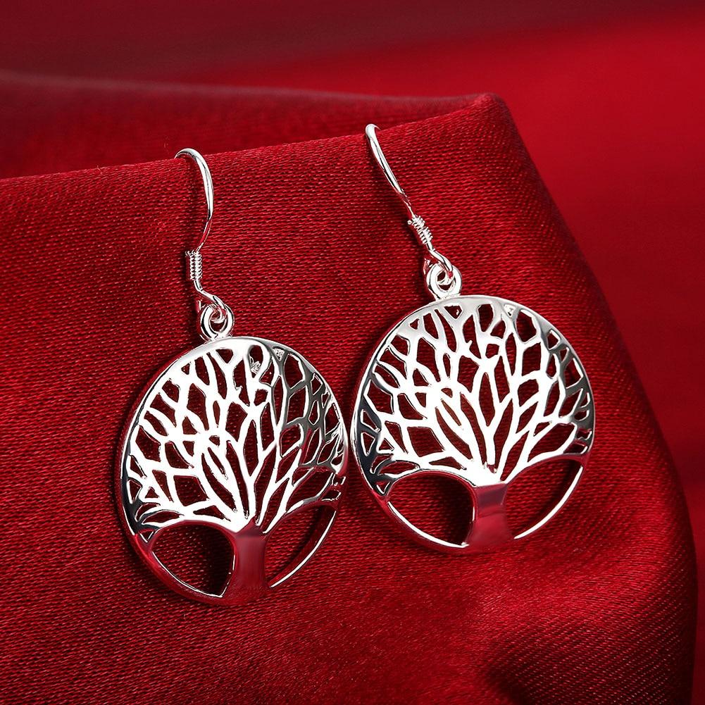 Новый-925-стерлингового-серебра-серьги-для-женщин-высокого-качества-ювелирные-изделия-оформление-c-резными-выемками-снаружи-круглые-серьги