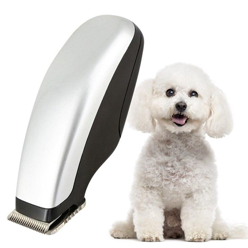 Máquina elétrica do aparador de pêlos do gato do cão animais estimação mini aparador de corte de cabelo gatos barbeador pet grooming suprimentos navalha clipper