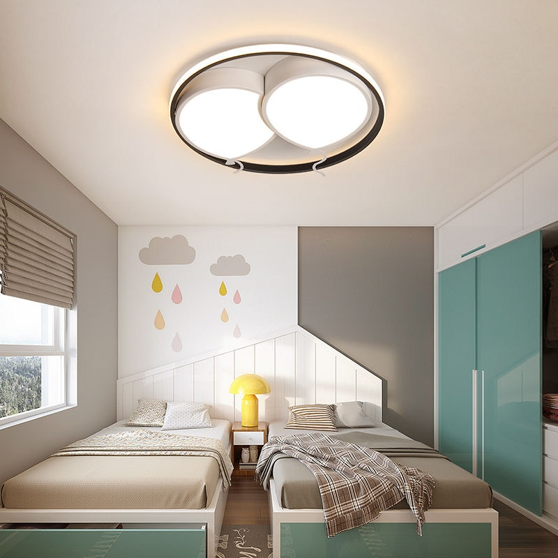 اللون بالون غرفة المعيشة غرفة الأطفال رياض الأطفال مصباح ليد مصدر السقف مصباح غرفة نوم غرفة المعيشة فيلا الإضاءة