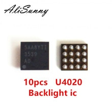 AliSunny 10pcs U4020 Backlight ic for iPhone 6S 6SPlus Back Light Control 16Pin Chip 3539 U4050 Parts