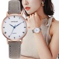 women imitation leather quartz watch business watch lady wristwatch fashion casual watch female clock gifts