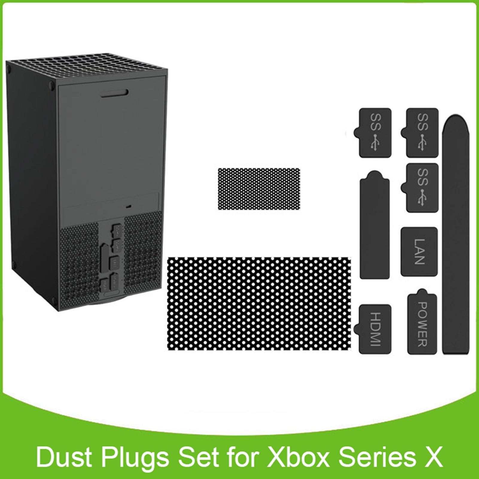Red antipolvo adecuada para Xbox Series X, conjunto de 2 red antipolvo...