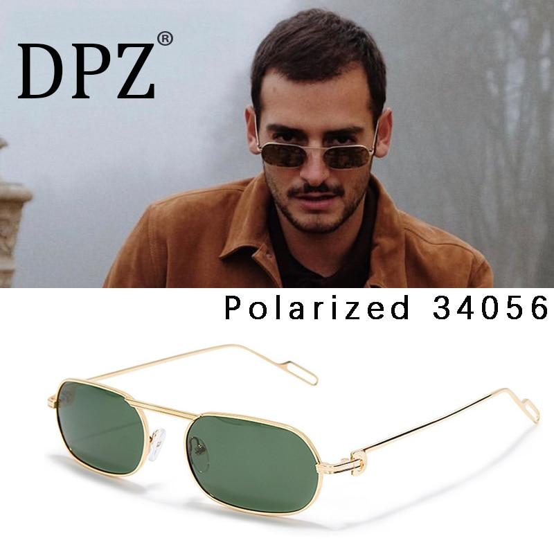 Nuevas gafas De Sol polarizadas con montura larga y pequeño diseño De marca para hombre, gafas De Sol con personalidad salvaje para mujer, gafas De Sol con foto De calle