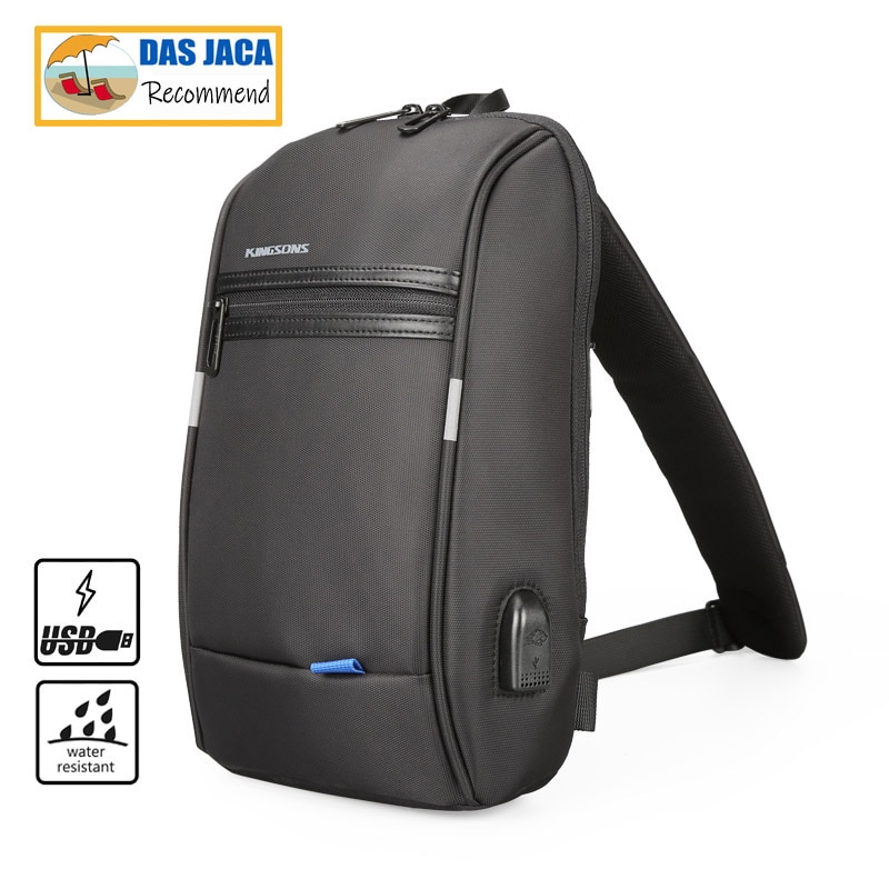 multifunction small backpack crossbody bag waterproof men chest bag 11 inch laptop ipad shoulder bag men s chest pack Single Shoulder Backpack Men Mini Backpack Waterproof Laptop Backpack 10.1 inch  Small USB Backpack casual chest bag