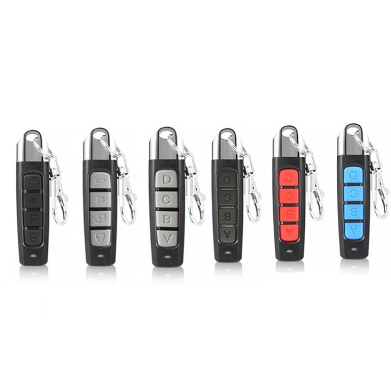 Универсальный пульт дистанционного управления для гаражной двери 433 МГц, клонирование 4 ключей, автомобильный динамичный код, ворота 433 МГц, ...