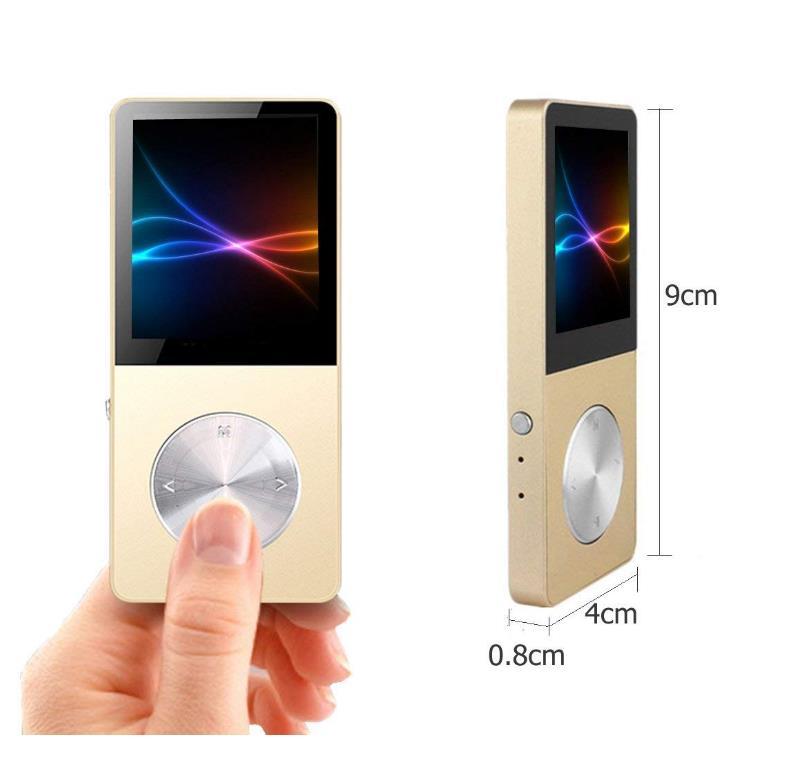 HIFI Alloy MP4 Player 16GB Supports TF Card FM Radio Video Recording Funciton Lossless Mini Sports Walkman Mp 3 Music Player enlarge