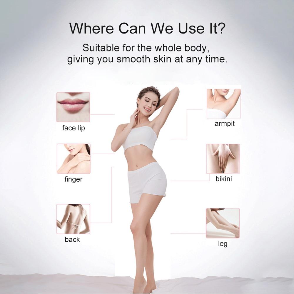 Nieuwe Laser Epilator Ipl Ontharing Machine Facial Epilator Voor Vrouwen Vrouwelijke Photoepilator Oksel Bikini Trimmer Veilig enlarge