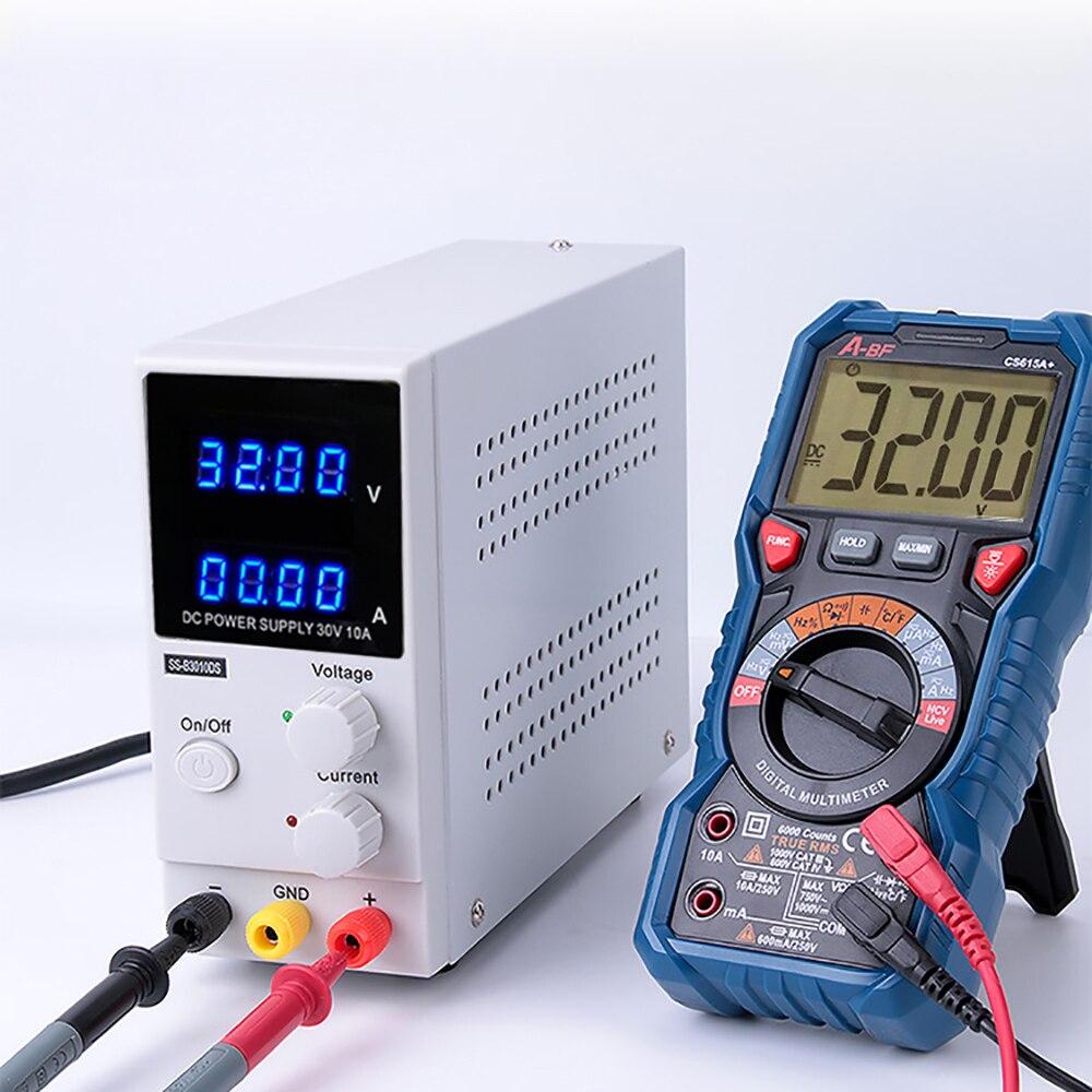 منظمات الجهد الكهربي مثبتات الطاقة متغير 30 فولت 10A قابل للتعديل عالية الدقة وظيفة الذاكرة 4 أرقام تيار مستمر امدادات الطاقة