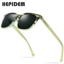 Acetate Polarized Sunglasses Men 2020 New High Quality Vintage Square Sun Glasses for Women Men's Korea Goggles Sunglass 9114