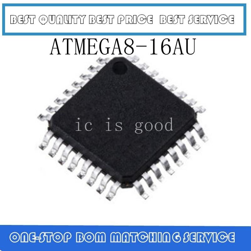 10 Uds ~ 100 Uds ATMEGA8 ATMEGA8-16AU QFP-32