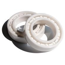 Roulement à billes en céramique 6204 20x47x14mm   Roulements en céramique de zircone ZrO2 20*47*14mm 4 pièces