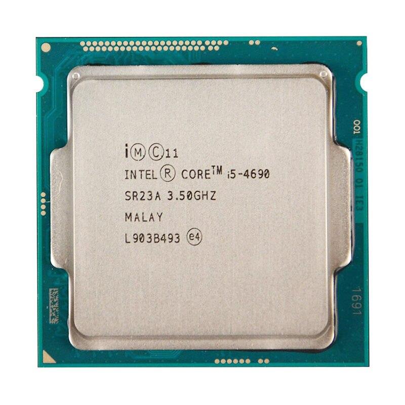 Para INTEL CORE i5-4690 CPU 22nm/6 MB/84 vatios/3,5 GHz/Quad-Core Socket LGA1150 i5 4690 CPU