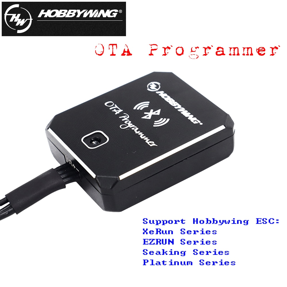Hobbywing OTA Programmer Bluetooth Module For Xerun Ezrun Platinum Seaking Brushless ESC Rc Car Rc Boat Drone Accessories Toys enlarge