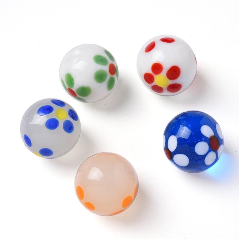 5 шт., стеклянные шарики, 20 мм