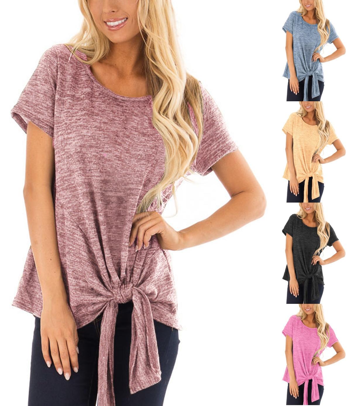 2020summer new hot sale explosive American fashion plus size t-shirt irregular tshirt unif gothic shein short-sleeved top women