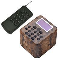 Outdoor Hunting Decoy Birds Caller MP3 Player Bird Sound Caller with Remote Control Speaker Bird Amplifier