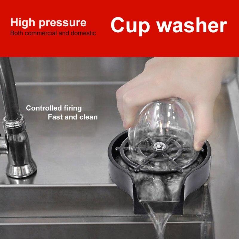 صنبور الزجاج الشطف ل أحواض مطبخ ، اكسسوارات بالوعة المطبخ ، بار الزجاج الشطف القهوة إبريق غسل كأس أداة بالوعة الملحقات