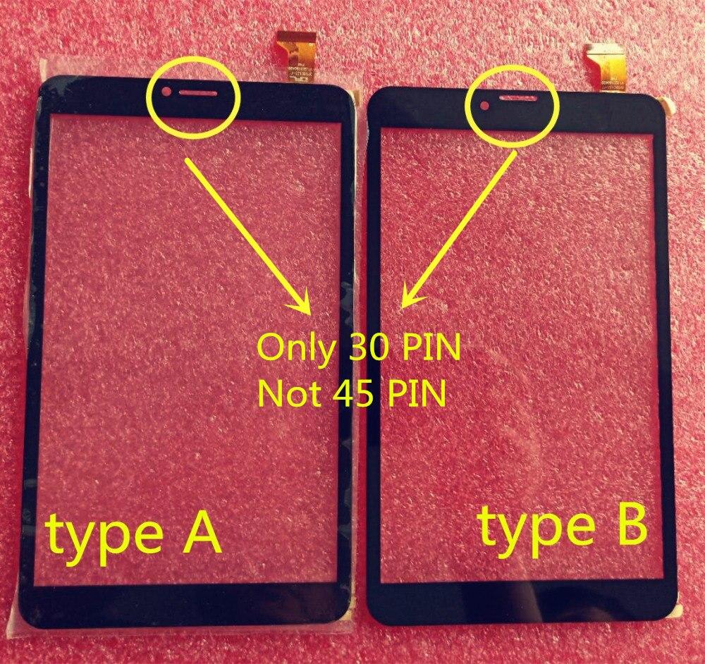 Черный 8 дюймов для Ginzzu GT-8110 4G GT-8110 GT8110 GT-8105 GT8105 GT-8010 3G 4G V2 сенсорный экран дигитайзер стекло