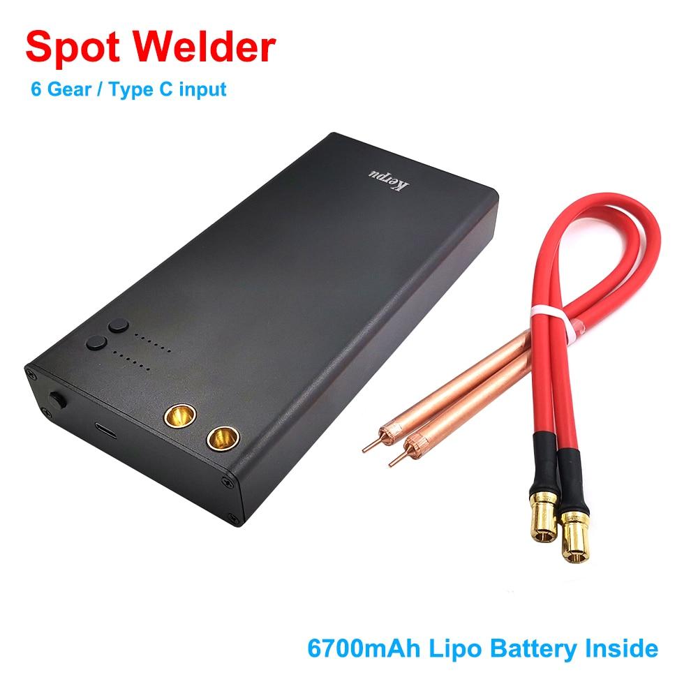 Adjustable 6 Gears Mini Spot Welder DIY Spot Welding Machine With Quick Release Pen 18650 Battery Nickel Plate Spot Welder
