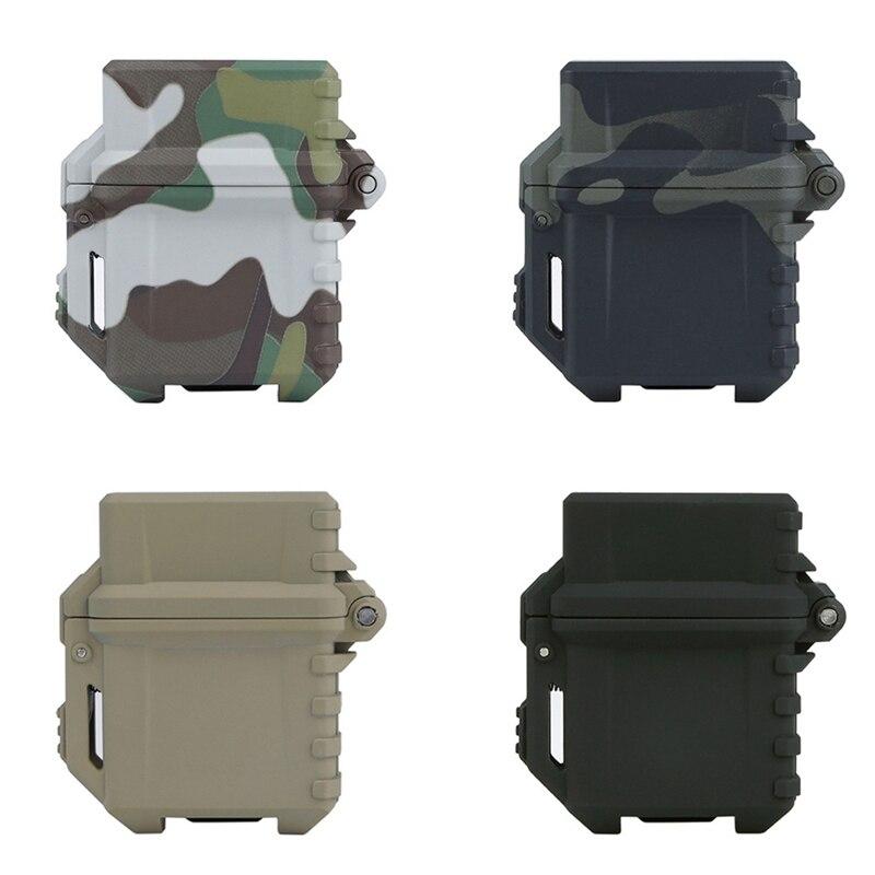 Caja de almacenamiento táctica para encendedor, caja portátil Universal, soporte organizador para depósito interior de Zippo 1