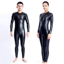 Fanceey 556 Pu velours corps complet couple maillot de bain néoprène combinaison femmes plongée sous-marine costume pour hommes combinaison chaude une pièce maillots de bain