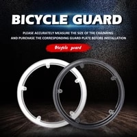 bicycle chain wheel protective cover chainring cover mountain bike protector guard bicycle sprocket guard accessories