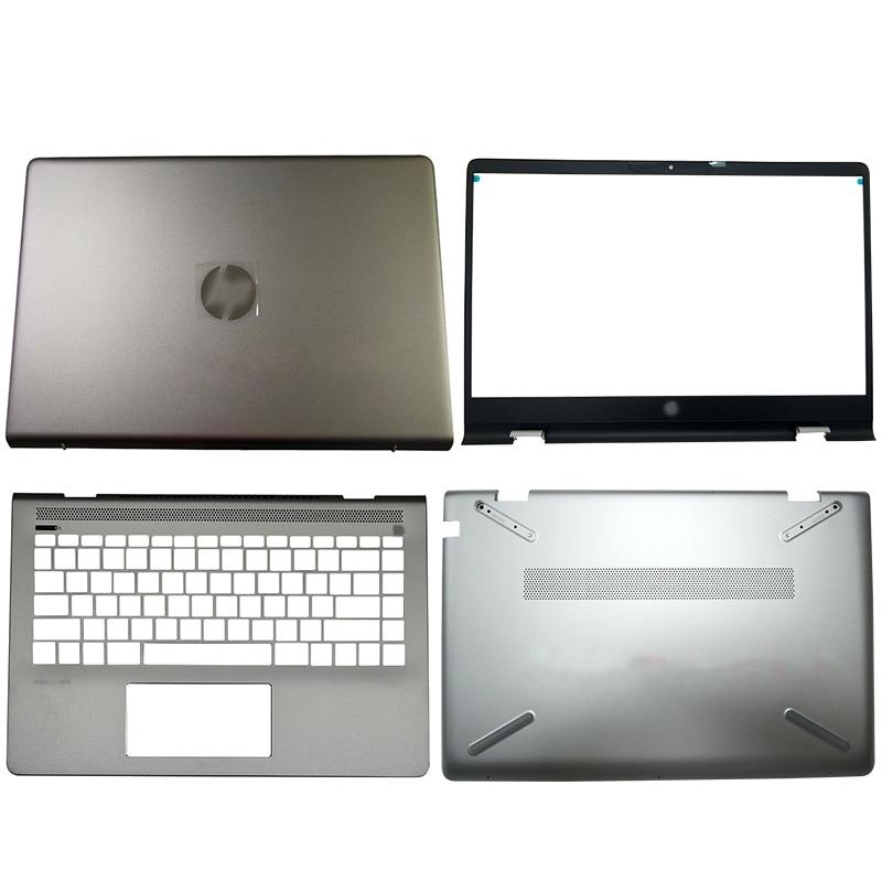 غطاء خلفي LCD لجهاز الكمبيوتر المحمول HP Pavilion ، جديد ، لأجهزة الكمبيوتر المحمول HP Pavilion 14-BF 14-BF116TX 932296-001 930593-001 ، الحافة الأمامية ، مفصلات ، مسند ال...