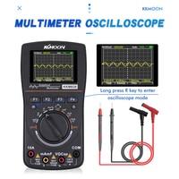 KKmoon Kkm828 High Definition Intelligent Graphical Digital Oscilloscope Multimeter 1MHz Bandwidth 2.5Msps Sampling Rate