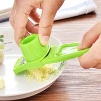 garlic press garlic mincer manual ginger garlic grinding grater cutter utensils garlic crusher kitchen accessories tools