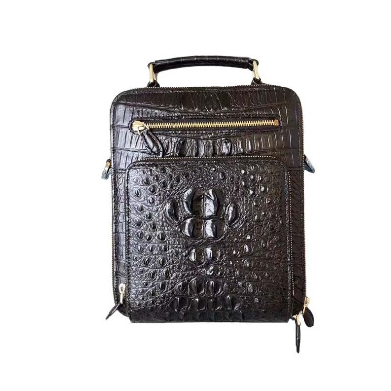 wanexing Thailand  crocodile leather male  handbag  leisure  business  Single shoulder bag  fashion  trend  Inclined men handbag