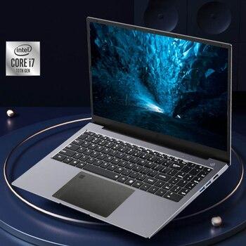 Fingerprint Unlock Gaming Laptop 15.6 Inch IPS Screen  Intel Core i7-1165G7  Processor Ultraslim 11th Gen Notebook Windows 10