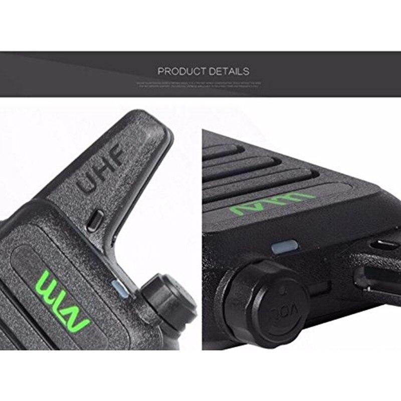 MINI Handheld Transceiver KD C1 Two Way Radio Ham Communicator Radio Station Mi-Ni Walkie Talkie enlarge