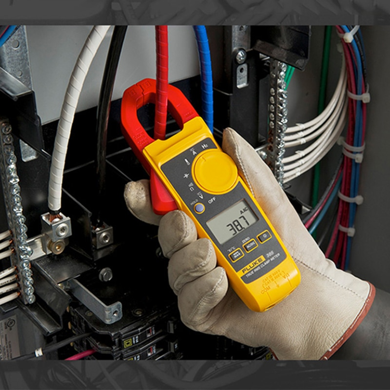 فلوك 302 +/F381 الرقمية فك التيار كماشة مقياس التيار الكهربائي جهاز اختبار المقاومة التيار المتناوب أمبير المشبك المتعدد أمبير