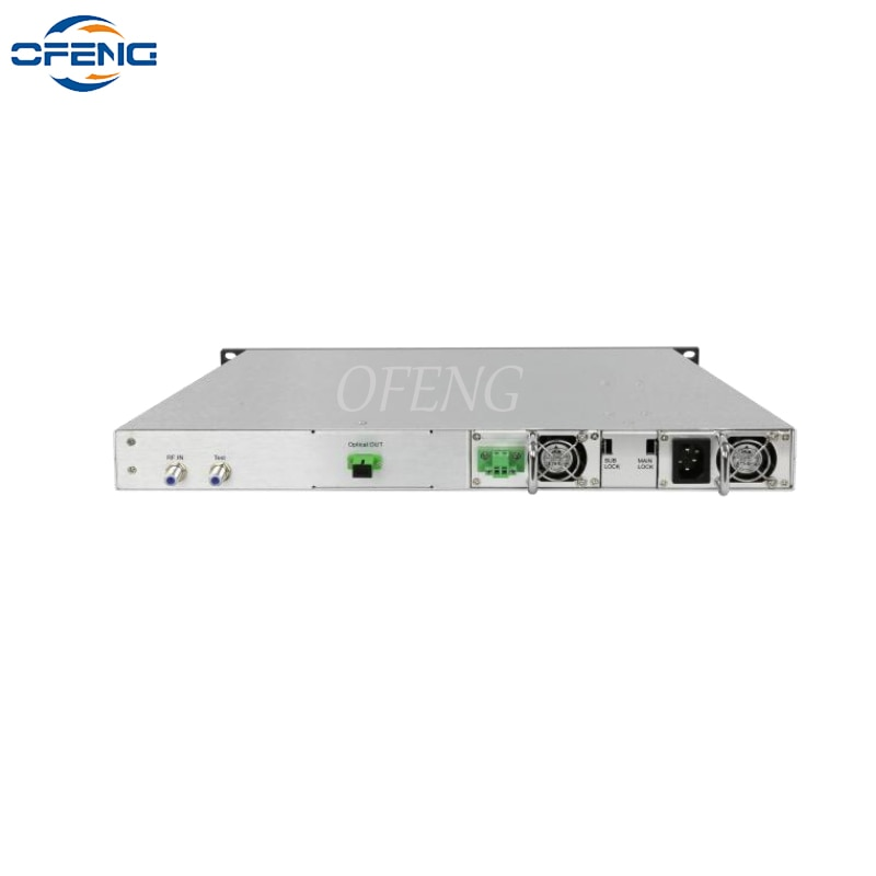 LT1300 الكيبل التلفزيوني 1550nm سلسلة المباشر التضمين جهاز إرسال من الألياف الضوئية 25 كجم 10dBm واحدة امدادات الطاقة