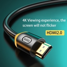 Kebiss for Xiaomi Mi Box HDMI-Compatible Cable 8K/60Hz 4K/120Hz 48Gbps Digital Cables for PS5 PS4 Sp