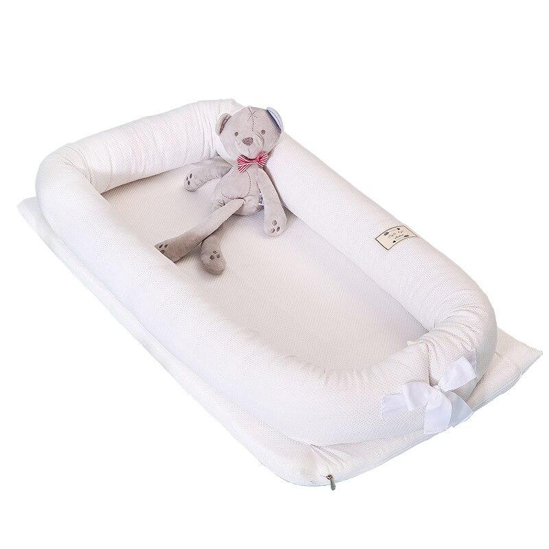 سرير قابل للطي قابل للتنفس ، حماية محمولة مقاومة للضغط على السرير ، قابلة للإزالة وقابل للغسل ثلاثية الأبعاد من القطن bionic