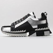 2020 Mannen Loopschoenen Top Kwaliteit Casual Mode Sport Schoenen Voor Vrouwen Echt Lederen Dames Sneakers Luxe Merk Maat 35-45