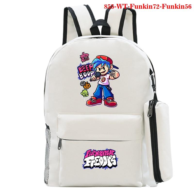 Высококачественные рюкзаки, рюкзаки с рисунком пятничной ночи, аниме-рюкзаки, женская сумка для путешествий