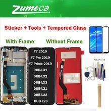 Original pour Huawei Y7 2019/Y7 Prime 2019/Y7 Pro 2019 écran LCD + écran tactile numériseur assemblée couleur noire avec Kits
