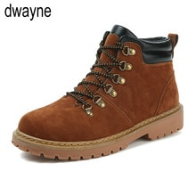 Bottes homme Martens cuir hiver chaussures chaudes moto hommes bottine Doc Martins automne hommes Oxfords chaussure hjm89