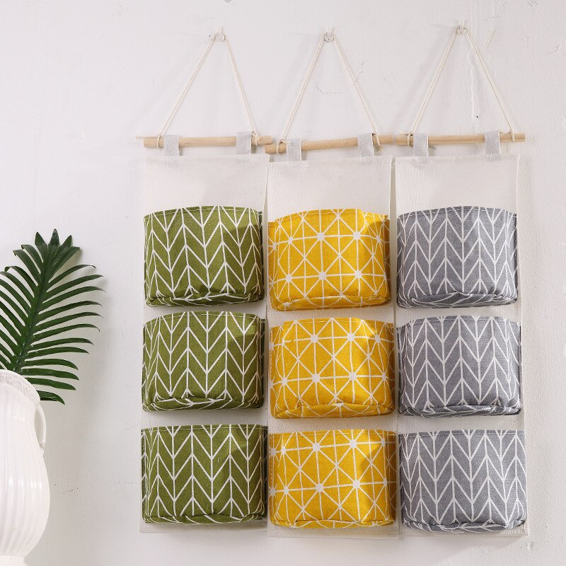 Organizador De armario para el hogar, bolsas De almacenamiento para cosas pequeñas,...