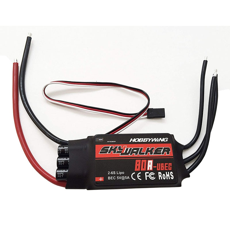 RC HOBBY Hobbywing Skywalker 15A 20A 30A 40A 50A 60A 80A ESC Speed Controller With UBEC For RC Airplanes Helicopter enlarge