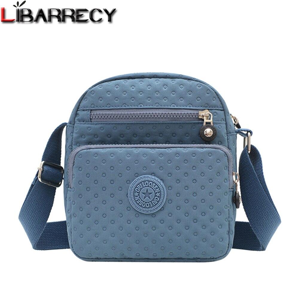 Однотонная дизайнерская Новая женская сумка через плечо, модная дизайнерская Женская дорожная сумка, высококачественный нейлоновый женский мессенджер, женская сумка