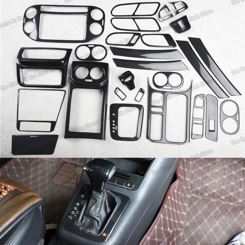 Panel de Control central de coche Lsrtw2017, Panel elevador de ventana, decoración de tablero para volkswagen tiguan 2008 2009 2010 2011 2012 vw