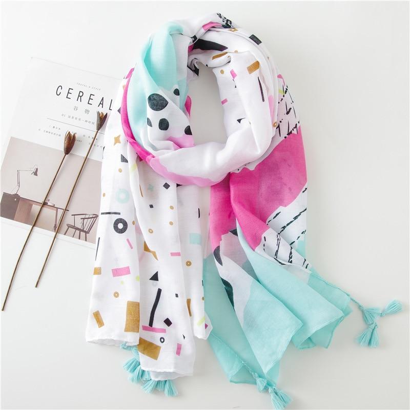 2018 marca de luxo feminina primavera verão novo estilo sun-resistente lenços de seda xale versátil alta qualidade moda