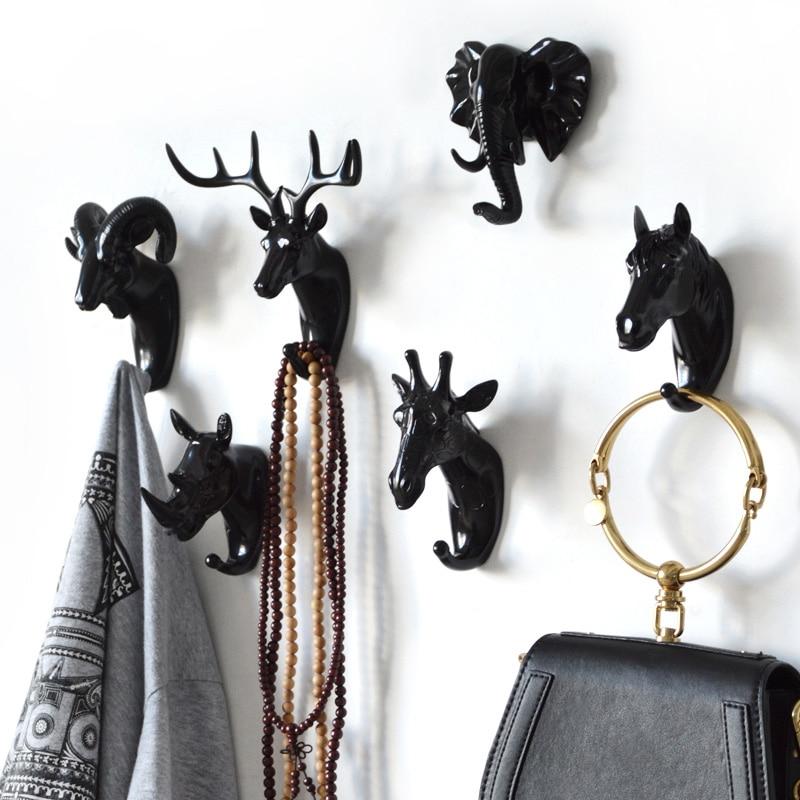 Hanger sleutels creatieve amerikaanse opknoping haak houder muur huis - Home opslag en organisatie - Foto 3