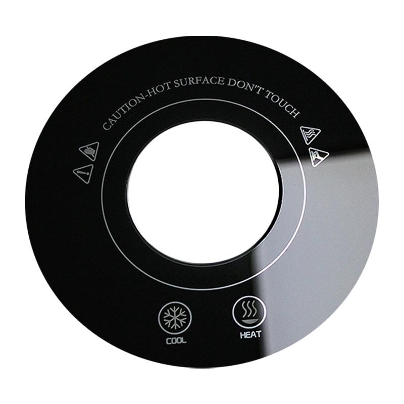 Коврик для чашки с USB, двойное охлаждение, нагрев, быстрое охлаждение, нагрев постоянной температурой (полупроводниковое охлаждение Tec)