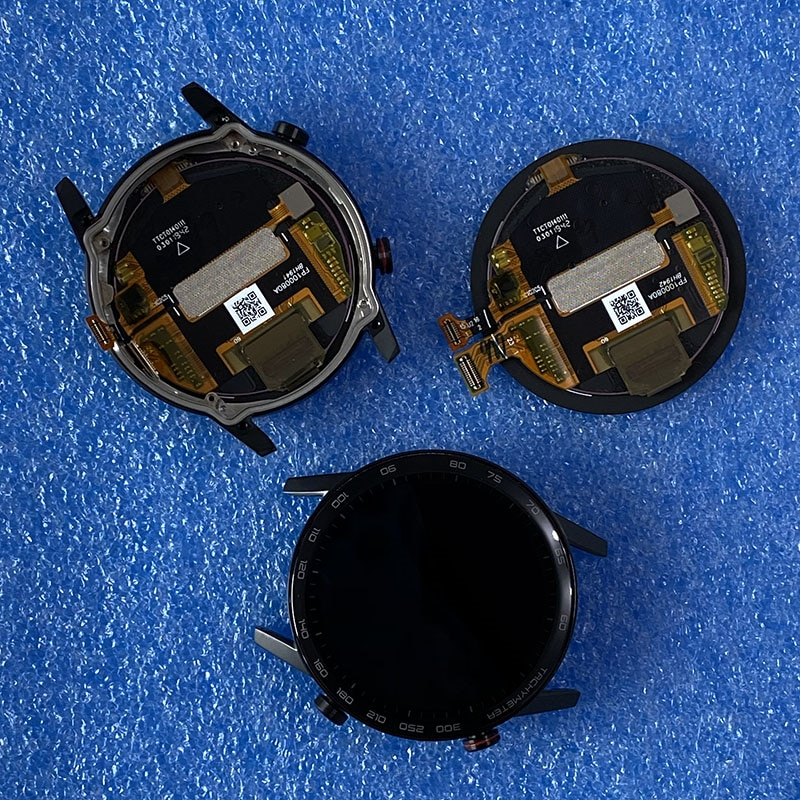 """Axisinternational original 1.39 """"para huawei honor magicwatch 2 46mm MNS-B19 tela lcd + painel de toque digitador"""